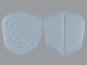 Lamictal 200 mg tablet