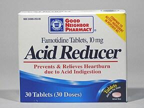 Acid Reducer (famotidine) 10 mg tablet