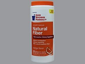 Natural Fiber Laxative (sugar) oral powder
