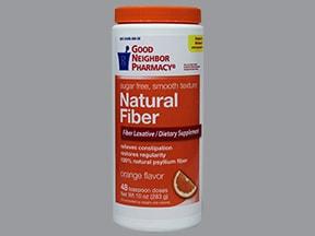 Natural Fiber Laxative (aspartame) oral powder