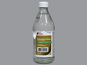 Citrate of Magnesia oral