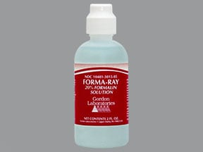 Forma-Ray 20 % solution