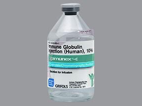 Gamunex-C 40 gram/400 mL (10 %) injection solution
