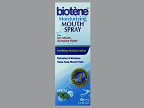 Biotene Moisturizing Mouth mucosal spray