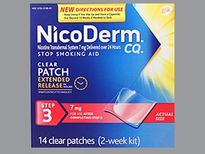 Side effects of nicoderm cq sexual manage somehow