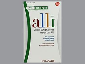 Alli 60 mg capsule
