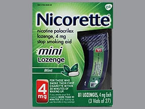 Nicorette Buccal Uses Side Effects Interactions
