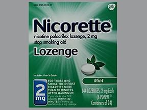 Nicorette 2 mg buccal lozenge