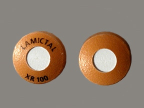 Lamictal XR 100 mg tablet,extended release