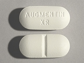 Augmentin XR 1,000 mg-62.5 mg tablet,extended release
