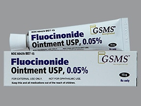 fluocinonide 0.05 % topical ointment