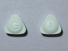 alprazolam ER 3 mg tablet,extended release 24 hr