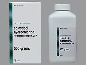 colestipol 5 gram oral granules
