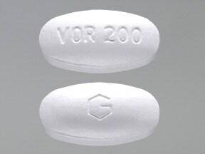 voriconazole 200 mg tablet