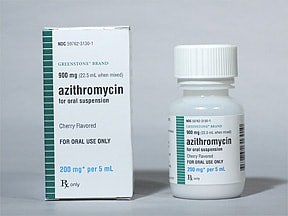 azithromycin 200 mg/5 mL oral suspension