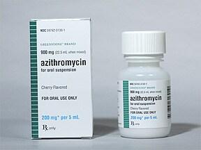 azithromycin 200 mg/5 mL oral suspension