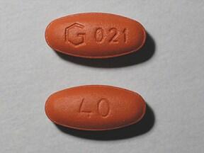 quinapril 40 mg tablet