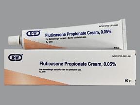 fluticasone 0.05 % topical cream