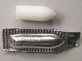 Bisac-Evac 10 mg rectal suppository