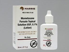 mometasone 0.1 % topical solution