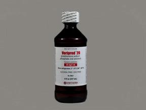 Veripred 20 20 mg/5 mL (4 mg/mL) oral solution