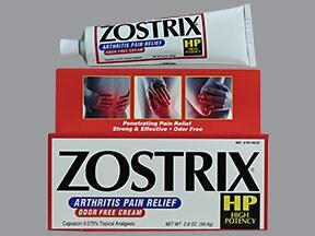Zostrix-HP 0.1 % topical cream