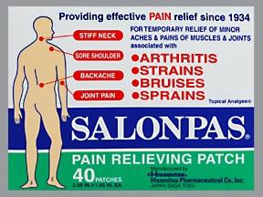 Salonpas topical patch