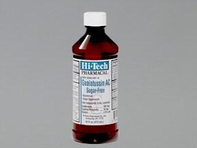 Guaiatussin AC 10 mg-100 mg/5 mL oral liquid