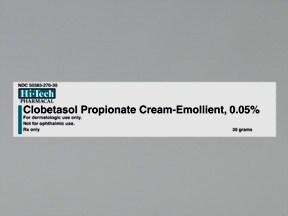 clobetasol-emollient 0.05 % topical cream