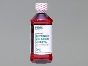 levofloxacin 250 mg/10 mL oral solution