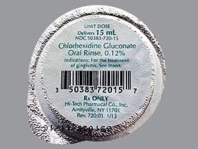 chlorhexidine gluconate 0.12 % mouthwash