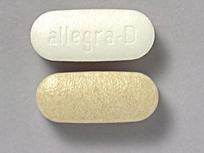 Allegra-D 12 Hour 60 mg-120 mg tablet,extended release