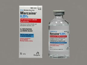 Marcaine-Epinephrine 0.25 %-1:200,000 injection solution