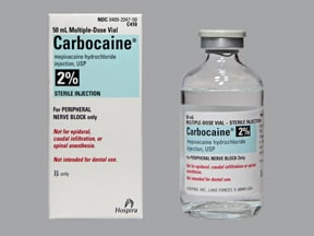 Carbocaine 2 % injection solution