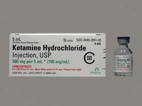 ketamine 100 mg/mL injection solution