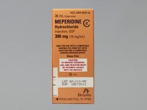 meperidine 10 mg/mL injection cartridge