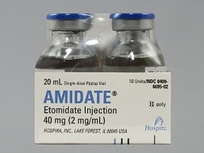 Amidate 2 mg/mL intravenous solution
