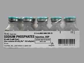 Sodium phosphates oral solution