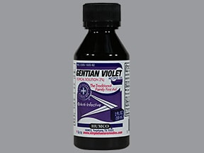 gentian violet 2 % topical solution