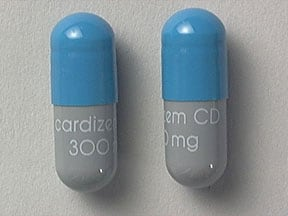 Cardizem CD 300 mg capsule,extended release
