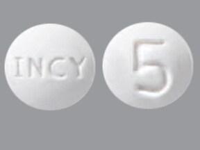 Jakafi 5 mg tablet