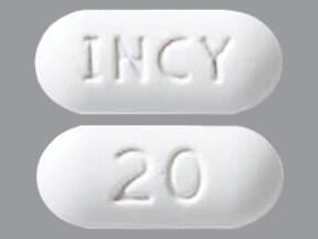 Jakafi 20 mg tablet