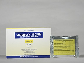 cromolyn 20 mg/2 mL solution for nebulization