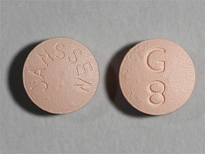 Razadyne 8 mg tablet