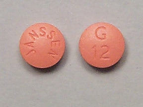 Razadyne 12 mg tablet
