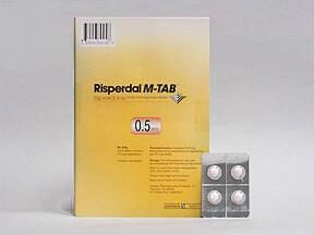 Risperdal M-TAB 0.5 mg disintegrating tablet