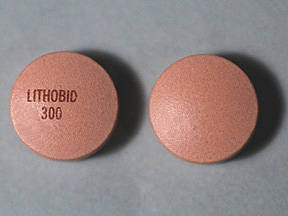 Lithobid 300 mg tablet,extended release