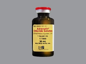 Adrenalin 1 mg/mL injection solution