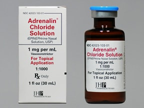 Adrenalin 1 mg/mL nasal solution