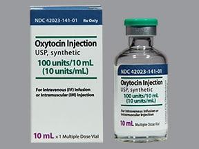 oxytocin 10 unit/mL injection solution